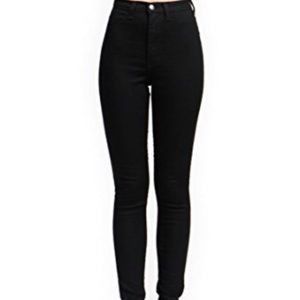 Zara high waist black jeggings